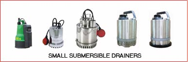 SMALL SUBMERISBLE DRAINERS
